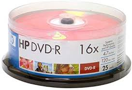 DVD-R HP BOX DE 25