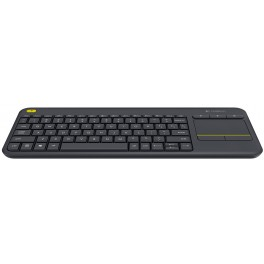 Clavier LOGITECH WIRELESS TOUCH KEYBOARD K400 PLUS