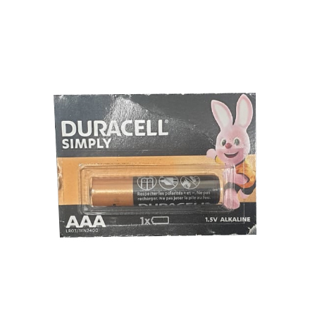 PILE DURACELL / ENERGIZER1.5V MN2400 / AAA LR03