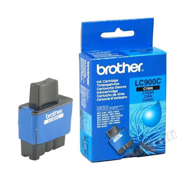 CARTOUCHE BROTHER LC900 CYAN