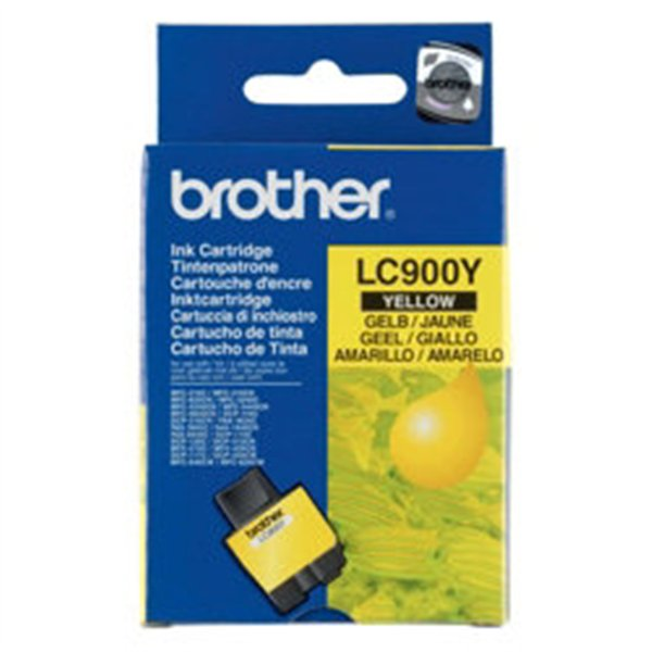 CARTOUCHE BROTHER LC900 YELLOW