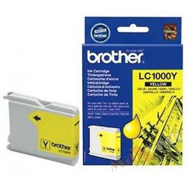 CARTOUCHE BROTHER LC1000 Y